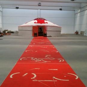 Il montaggio della yurta – Gallery eVideo!