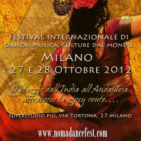 Nomad Dance Fest a Milano il 27 e 28ottobre