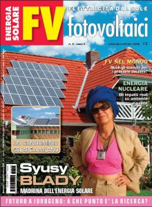 Copertina di fotovoltaici FV