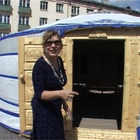La yurta di Syusy, metafora del vivereecosostenibile