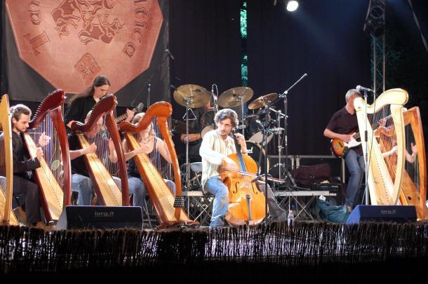 fabius e la celtic harp orchestra