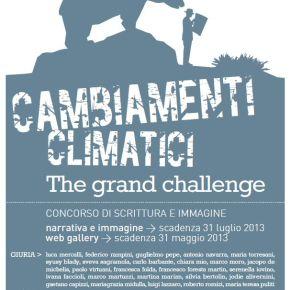 Cambiamenti climatici. The grandchallenge