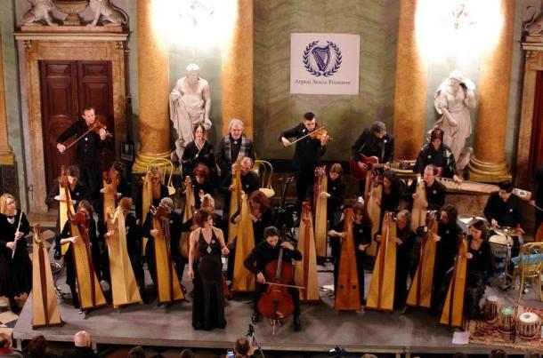 Celtic Harp Orchestra - Villa Olmo Como