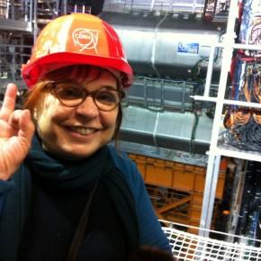 Syusy al CERN dall'acceleratore diparticelle!