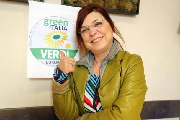 Scrivi Maurizia Giusti o Syusy Blady accanto al simbolo di Green Italia Verdi Europei