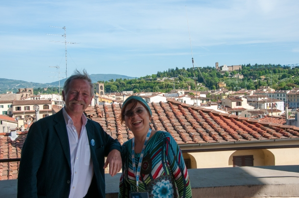 Syusy e José Bové a Firenze