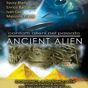 """Syusy al convegno """"AncientAlien"""""""