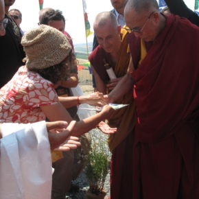 "Il Dalai Lama ""Verde"" onorario!"