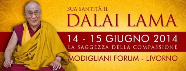 Il dalai lama in Italia