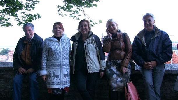 Foto di gruppo a Saaremaa