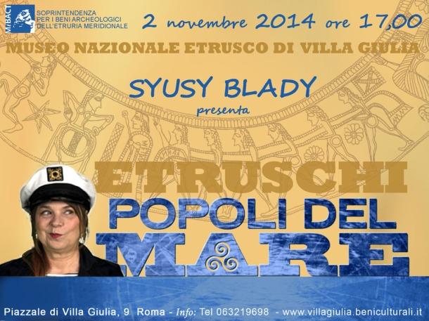 Villa Giulia con Syusy