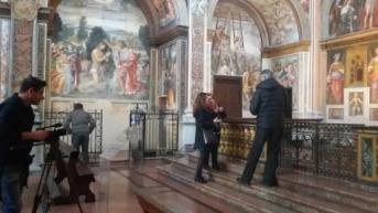 Chiesa San Maurizio al Monastero Maggiore con Maria Gaglione 4
