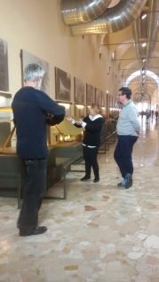 Al Museo Scienza e Tecnologia con Claudio Giorgione