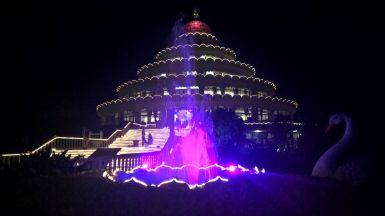 La sala meditazione di Bangalore