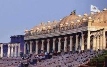 Il palco del Festival, Nuova Delhi