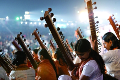 Sitars al World Culture Festival