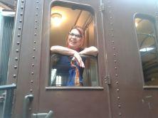 Al museo ferroviario di Napoli