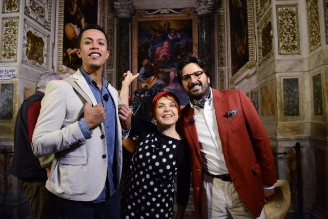 Syusy, Livio e Costantino d'Orazio