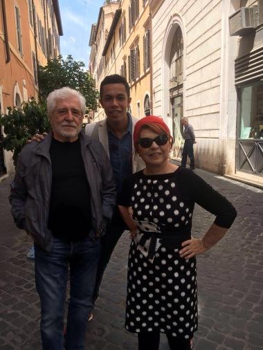 Con Ugo Pagliai
