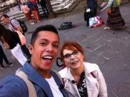 Syusy e Livio Beshir In viaggio con la zia a Firenze