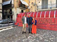 Nei Quartieri Spagnoli con Gragnaniello