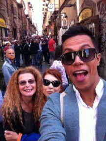 Selfie a Spaccanapoli