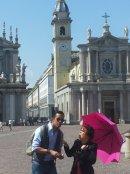 Syusy e Livio a Torino