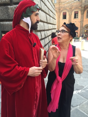 Con Dante Alighieri