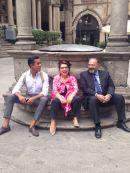 Con Massimo Bernardini