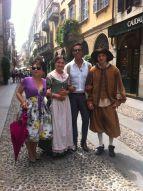Con Renzo e Lucia...