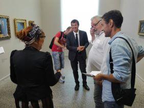 Con Giorgio Gori, sindaco di Bergamo