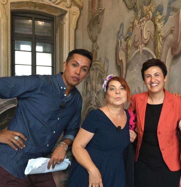 Con Beatrice Bolandrini