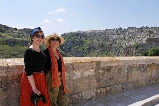 Syusy e Zoe in Basilicata, a Matera