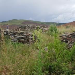 Tellinger e la datazione dei cerchi di pietra inSudafrica