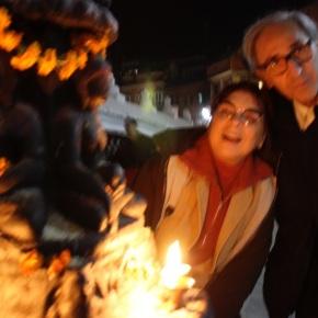 Attraversando il bardo, a Kathmandu con FrancoBattiato